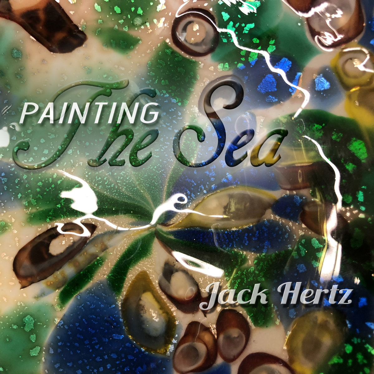 Painting The Sea by Jack Hertz
