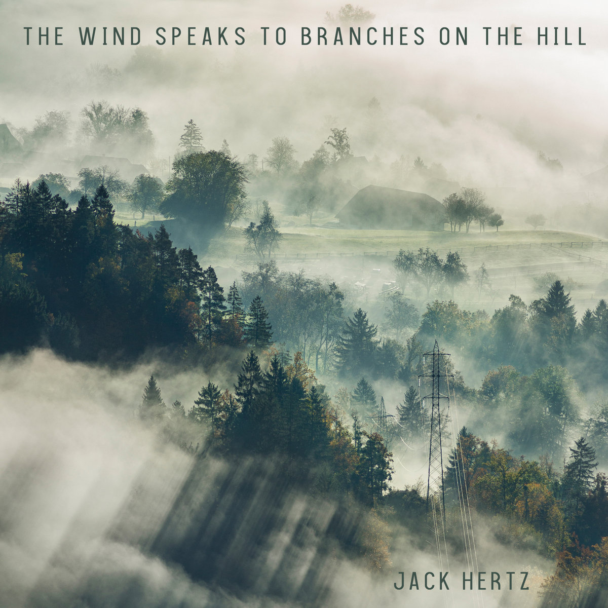 The Wind Speaks to Branches on the Hill by Jack Hertz